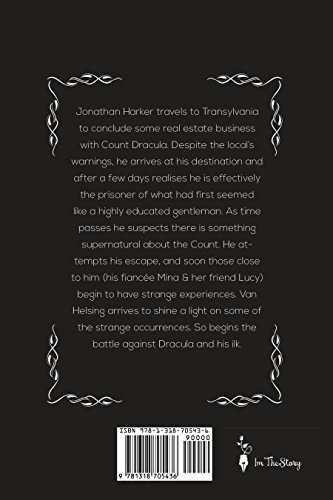 Personalized Horror Storybook - Dracula Book HardCover Bram Stoker/A Unique (Change Name) for Halloween Birthdays Holidays Christmas by ImTheStory -