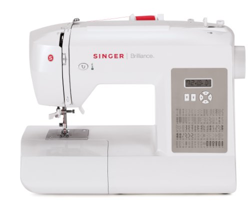Singer Factory Serviced 6180 Brilliance 80-Stitch Computerized Sewing Machine