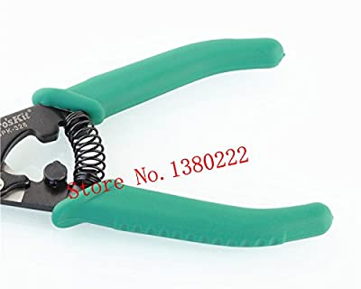 Pro'sKit 8PK-326 High-grade optical fiber wire stripping pliers Fiber Optic Stripper ping
