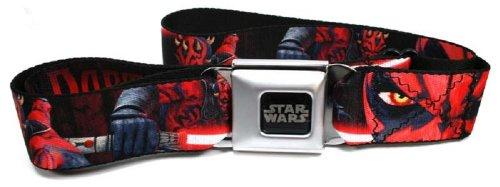 Buckle-Down Adjustable Seatbelt Belt (Star Wars Darth Maul)