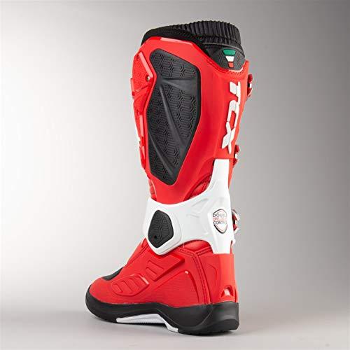 45 bianco Cross Michelin Tcx Rosso Comp Stivali Evo 2 fROpwUq