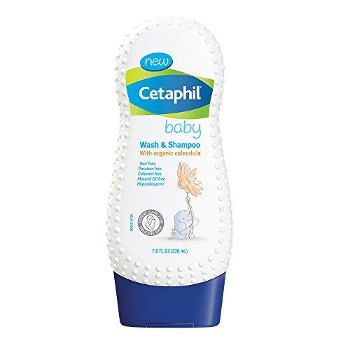 Laver bébé Cetaphil et shampooing avec Calendula bio, 7,8 onces