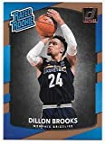 Dillon Brooks 2017-18 Donruss Memphis Grizzlies Rated Rookie Card #152