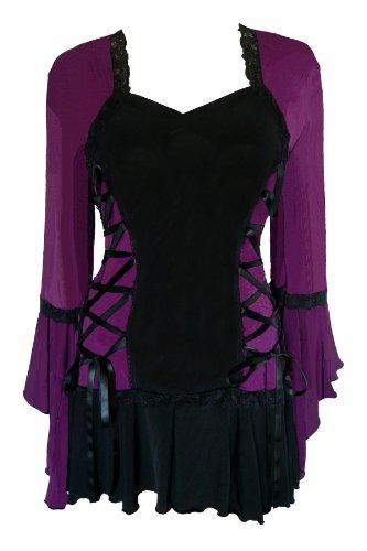 Dare to Wear Victorian Gothic Boho Women's Plus