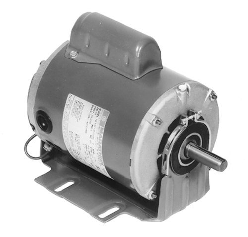 Marathon B208 Blower Belted Motor, 48Y Reversible Frame, 1/2 hp, 115V, 1725 RPM