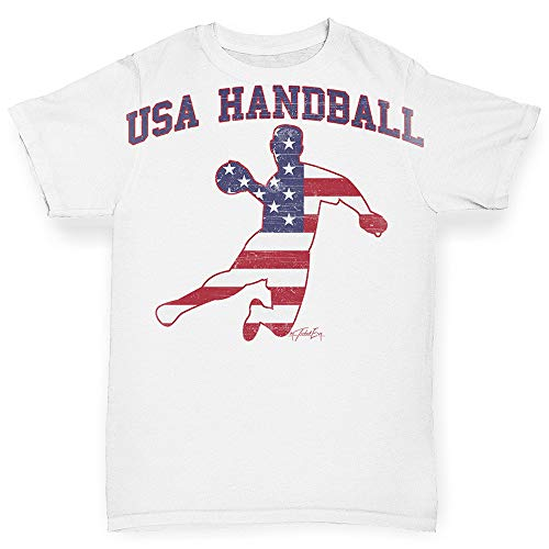 TWISTED ENVY Baby Girl Clothes USA Handball White 6-12 Months