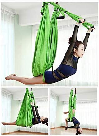Aerial Yoga Schaukel Hängematte Anti Schwerkraft Fitness Inversion Yoga Trapez