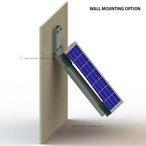 Solar Panel Wall >> Amazon Com Unlimited Solar Universal Solar Panel Side Of Pole
