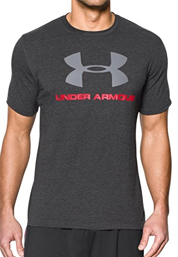 Under Armour Herren Fitness - T-shirts & Tanks, Fitness T-shirt und Tank, Gr. M, Dunkelgrau (Dark grey)