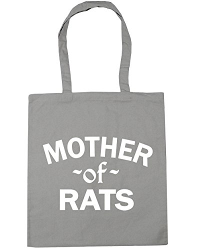 Beach Grey litres Of Light Tote 10 42cm Mother x38cm Rats Gym Shopping HippoWarehouse Bag qgYTB
