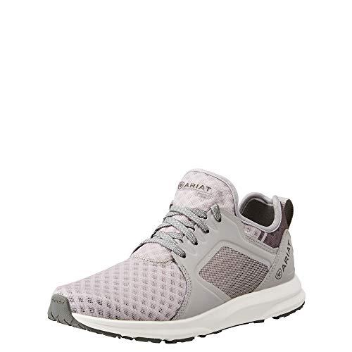 Ariat Women's Fuse Athletic Shoe, Grey, 6 B US