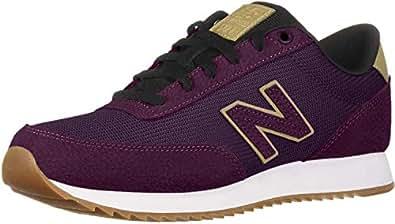 New Balance Women's 501v1 Sneaker, Dark Currant/Hemp, 5 B US