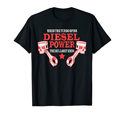 Diesel Power T-Shirt Truck Turbo Brothers ()