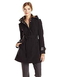 Via Spiga Women's Soft Shell Jacket with Hood