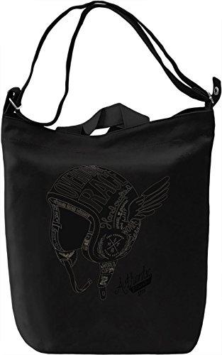 Overdrive race Borsa Giornaliera Canvas Canvas Day Bag| 100% Premium Cotton Canvas| DTG Printing|