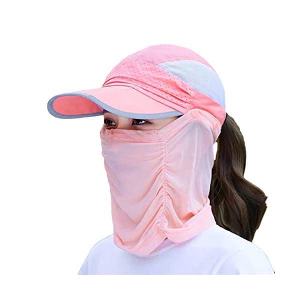 qishengshengwukeji Cappello da Sole Cappello Pescatore Mens Cappelli di Sun UV di Protezione Unisex del Cappello del… 1 spesavip