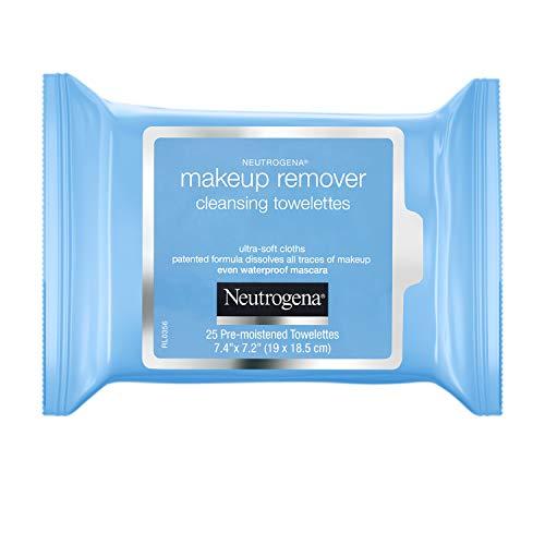 Neutrogena Makeup Remover Towelettes 25 Wipes, White, 205 g