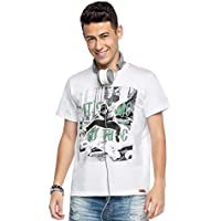 Camiseta Manga Curta Juvenil Menino Branco - Elian Beats