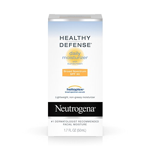 - Neutrogena Healthy Defense Daily Moisturizer With Broad Spectrum Spf 30 Sunscreen, 1.7 Fl. Oz