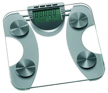 Magic MGC EBS 3 - Báscula con análisis de grasa corporal, cristal: Amazon.es: Salud y cuidado personal