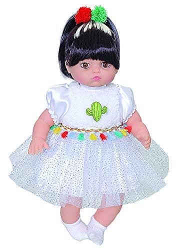 Boneca Kandy - Lhama Anjo Branco