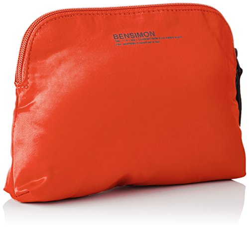 Bensimon City Pocket - Borse a spalla Donna, Rouge, 5x15x22 cm (W x H x L)