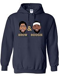 "Navy New Orleans ""Brow & Boogie PIC"" Hooded Sweatshirt"