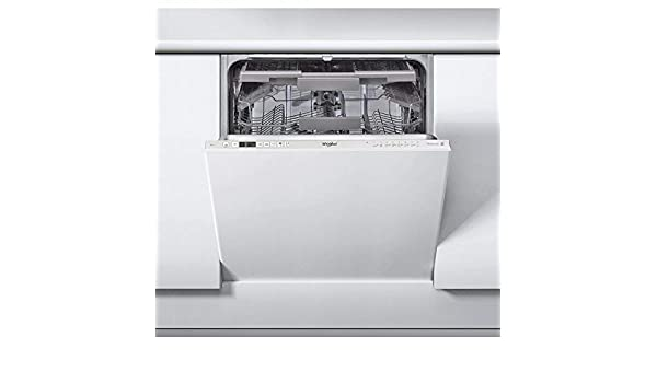 Whirlpool lavavajillas integrable wic3c26pf blanco a++: ...