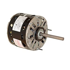 A.O. Smith/Century DL1036 1/3 HP, 1075 RPM, 3 Speed, 115 Volts4.9 Amps, 48 Frame, Sleeve Bearing...