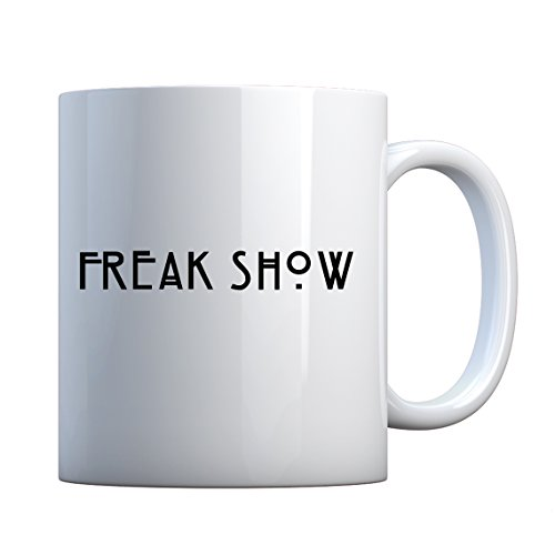 Mug Freak Show Large Pearl White Gift -