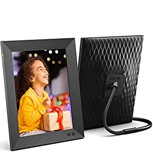 Nixplay 2K Smart Digital Picture Frame 9.7 Inch, Share Video Clips and Photos Instantly via App or E-Mail 7