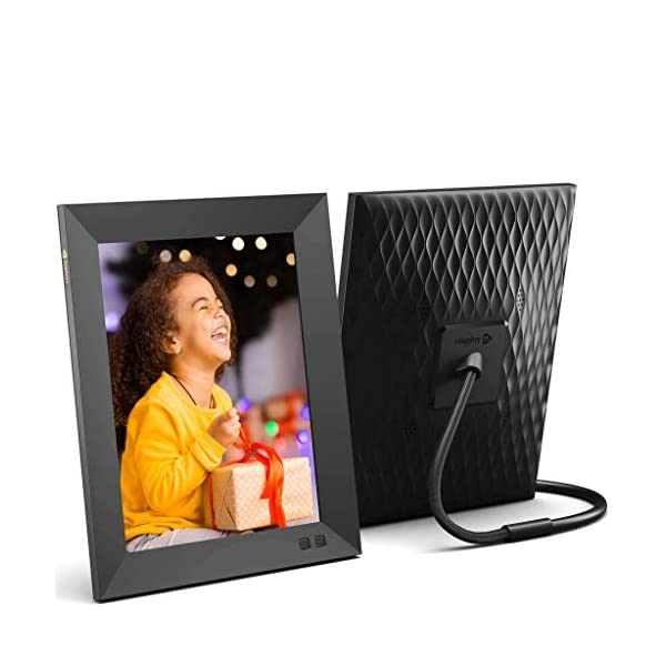 Nixplay 2K Smart Digital Picture Frame 9.7 Inch, Share Video Clips and Photos Instantly via App or E-Mail 1