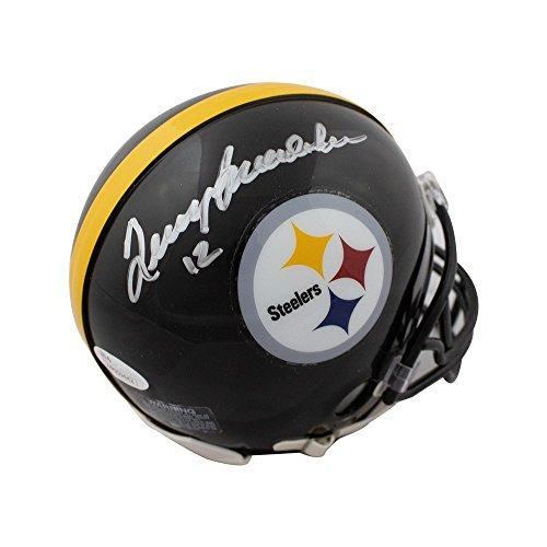 ae8efe28d Terry Bradshaw Autographed Pittsburgh Steelers Mini Football Helmet - JSA  COA