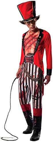 Ringmaster Tailcoat (Rubie's Costume Co Men's Mauled Ringmaster Costume, Multi, X-Large)