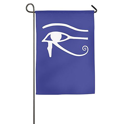 Egyptian Logo Eye Of Horus Halloween Garden Flag