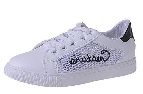 tacco bianco Gmxda010751 colori da con Agoolar lacci pizzo in assortiti con Scarpe in tacco donna U0A6wqH