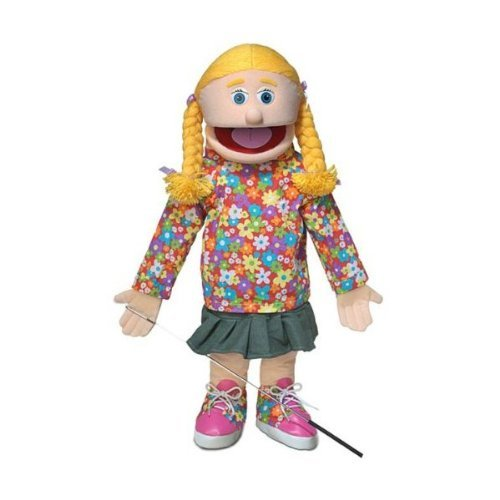 ''Cindy'', 25In Full Body Puppet, Peach -Affordable Gift for your Little One! Item #DSPU-SP2501 ''Cindy'' Silly Puppets