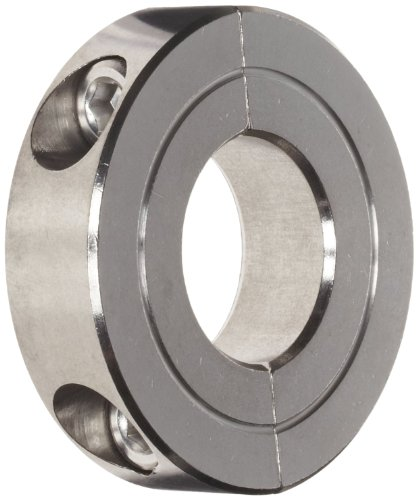 Climax Metal H2C-075-S Shaft Collar, Two Piece, Clamp Style, Stainless Steel, 3/4