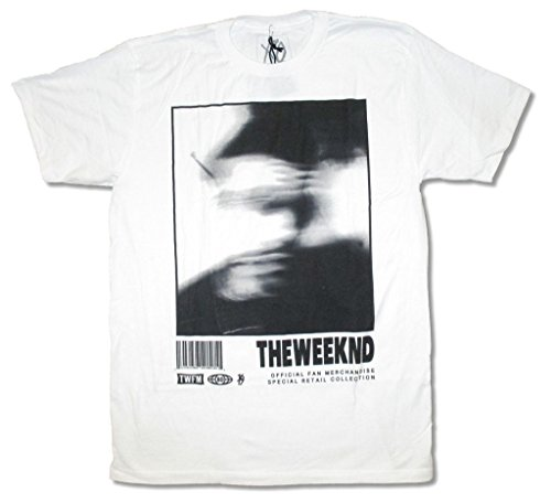 The Weeknd Blurry Image XO TWFM White T Shirt (3X) (Shirt T Xo Weeknd The)