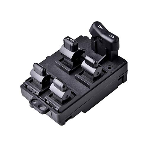 Facaimo Electric Power Window Master Control Switch for 1994-1997 Accord EX LX SE