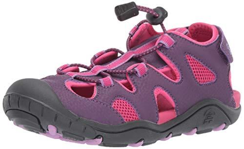 Kamik Girls' OYSTER2 Sandal, Purple, 3 M US Little Kid