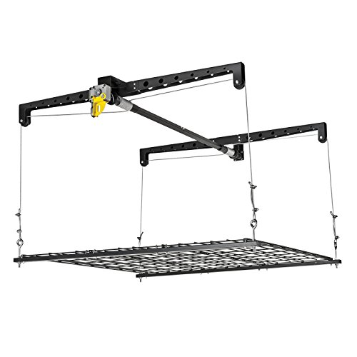 Racor PHL-1R Pro HeavyLift 4-by-4-Foot Cable-Lifted Storage...