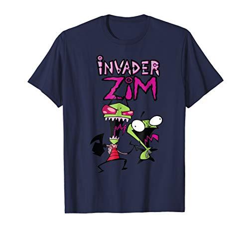 Nickelodeon Invader Zim and Gir - Zim Shirts Tee Invader