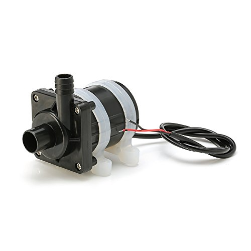 Gardening DC 12V Brushless Water Pump Garden Fountain Circulate System Pump by LEEPRA