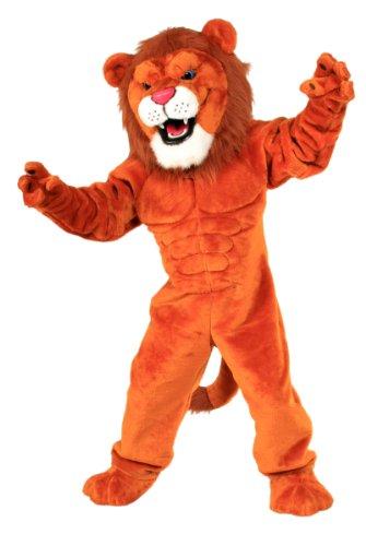[ALINCO Power Lion Mascot Costume] (Alinco Costumes)