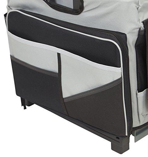 ECR4Kids MemoryStor Universal Rolling Cart and Organizer Bag Set, Black by ECR4Kids (Image #7)