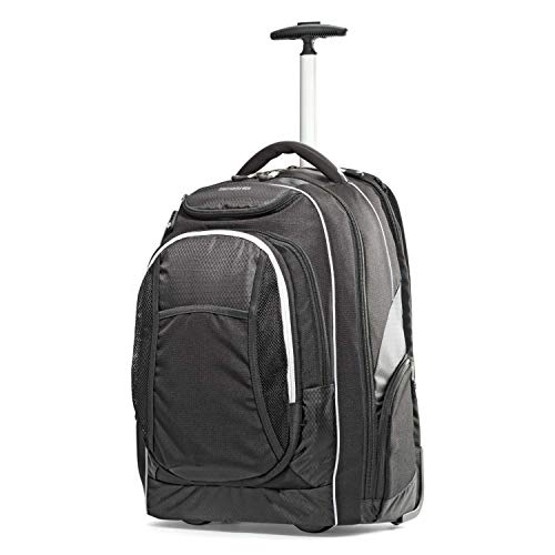 (Samsonite Tectonic Wheeled Backpack 17-Inch, Black)