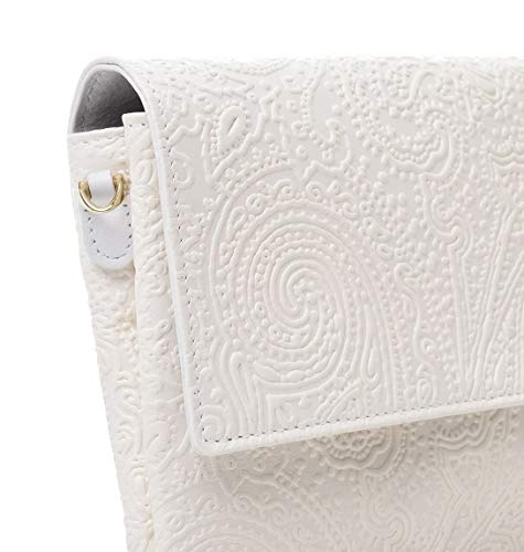 Pochette Bianco Pelle 1g1572744990 Donna Etro aUd1qq