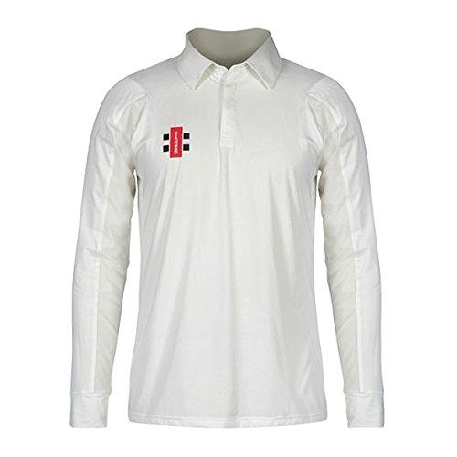 Gray Nicolls Cricket T-Shirt Full Sleeve White