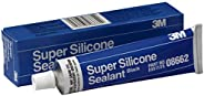 3M Black Super Silicone Seal, 08662, 3 oz tube